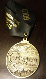 Catman Cellars Boutique Oregon Winery Gold Medal